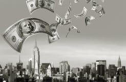 Μειωμένα χρήματα $100 Bill Στοκ Εικόνες