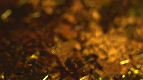 Μειωμένα χρυσά αστέρια φιλμ μικρού μήκους