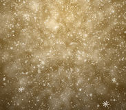 Μειωμένα snowflakes Στοκ Φωτογραφίες