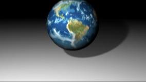 Μειωμένη & αναπηδώντας γη διανυσματική απεικόνιση