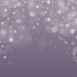 Μειωμένη επίδραση χιονιού διανυσματική απεικόνιση