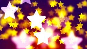 Μειωμένος ζωηρόχρωμος βρόχος αστεριών HD 1080 φιλμ μικρού μήκους