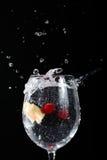 μειωμένο γυαλί καρπού στοκ εικόνα