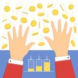 Μειωμένο εικονίδιο χρημάτων Διανυσματική απεικόνιση