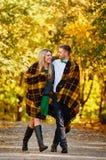 Μειωμένο ερωτευμένο φθινόπωρο Στοκ Εικόνες