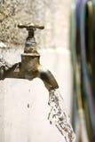 μειωμένο νερό βρύσης Στοκ Εικόνες
