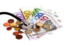 μειωμένο οικονομικό ποσοστό διαγραμμάτων κρίσης Στοκ Φωτογραφίες