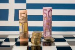 μειωμένο οικονομικό ποσοστό διαγραμμάτων κρίσης Στοκ φωτογραφία με δικαίωμα ελεύθερης χρήσης