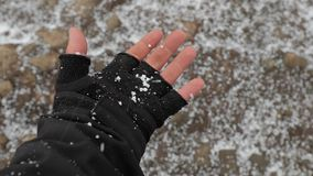 Μειωμένο παγωμένο χιόνι φιλμ μικρού μήκους