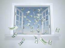 μειωμένο παράθυρο δολαρί απεικόνιση αποθεμάτων