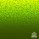 Μειωμένο χιόνι στο πράσινο υπόβαθρο Χριστούγεννα ελεύθερη απεικόνιση δικαιώματος