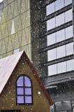 Μειωμένο χιόνι Στοκ φωτογραφίες με δικαίωμα ελεύθερης χρήσης