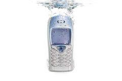 μειωμένο ύδωρ κινητών τηλε&phi Στοκ φωτογραφία με δικαίωμα ελεύθερης χρήσης