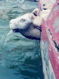 μειωμένο ύδωρ γυαλιού Στοκ φωτογραφία με δικαίωμα ελεύθερης χρήσης