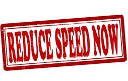 Μειώστε την ταχύτητα τώρα διανυσματική απεικόνιση