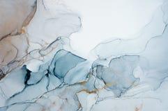 Μελάνι, χρώμα, περίληψη Ζωηρόχρωμο αφηρημένο υπόβαθρο ζωγραφικής Ιδιαίτερα-κατασκευασμένο ελαιόχρωμα Υψηλός - ποιότητα detaInk, χ ελεύθερη απεικόνιση δικαιώματος