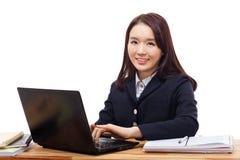 Μελέτη σπουδαστών του Yong αρκετά ασιατική στοκ φωτογραφία με δικαίωμα ελεύθερης χρήσης