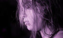 μελέτη της πορφυρής σκέψη&sigma Στοκ εικόνες με δικαίωμα ελεύθερης χρήσης