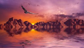 μελαγχολικοί βράχοι Στοκ εικόνα με δικαίωμα ελεύθερης χρήσης