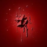 μελανώστε rubin Στοκ φωτογραφία με δικαίωμα ελεύθερης χρήσης