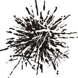 μελανώστε splat Στοκ εικόνες με δικαίωμα ελεύθερης χρήσης