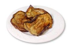 μελιτζάνα που τηγανίζετα Στοκ Εικόνα