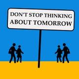 Μελλοντικά σχέδια Στοκ εικόνες με δικαίωμα ελεύθερης χρήσης