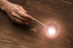 Μελλοντική ανάγνωση Έννοια αφηγητών τύχης Divination έννοια στοκ εικόνα με δικαίωμα ελεύθερης χρήσης