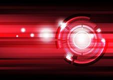 Μελλοντική ανασκόπηση τεχνολογίας Στοκ εικόνα με δικαίωμα ελεύθερης χρήσης
