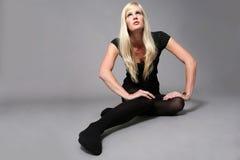 μελλοντικό μοντέλο μόδας Στοκ φωτογραφία με δικαίωμα ελεύθερης χρήσης