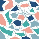 Μελλοντικό μπλε αφηρημένο ζωηρόχρωμο υπόβαθρο με τη γραμμή Στοκ φωτογραφία με δικαίωμα ελεύθερης χρήσης