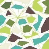 Μελλοντικό πράσινο αφηρημένο ζωηρόχρωμο υπόβαθρο με τις γραμμές Στοκ Εικόνες