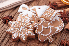 μελόψωμο μπισκότων Στοκ Εικόνες