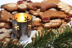 μελόψωμο Χριστουγέννων στοκ φωτογραφίες