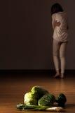 Μεμβρανοειδές anorexic κορίτσι Στοκ φωτογραφίες με δικαίωμα ελεύθερης χρήσης