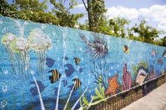 Μεξικάνικα γκράφιτι Στοκ εικόνα με δικαίωμα ελεύθερης χρήσης