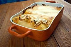 Μεξικάνικα enchiladas τροφίμων Στοκ εικόνα με δικαίωμα ελεύθερης χρήσης