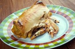 Μεξικάνικα enchiladas τροφίμων Στοκ εικόνες με δικαίωμα ελεύθερης χρήσης