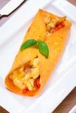 Μεξικάνικα enchiladas Στοκ φωτογραφία με δικαίωμα ελεύθερης χρήσης