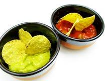 Μεξικάνικα nachos Στοκ φωτογραφία με δικαίωμα ελεύθερης χρήσης