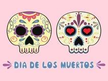 Μεξικάνικα sculls Στοκ εικόνα με δικαίωμα ελεύθερης χρήσης