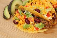 μεξικάνικα tacos Στοκ φωτογραφίες με δικαίωμα ελεύθερης χρήσης