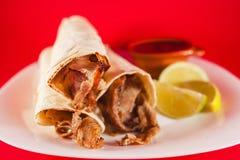 Μεξικάνικα tacos arabes Πουέμπλα Μεξικό Στοκ Φωτογραφίες