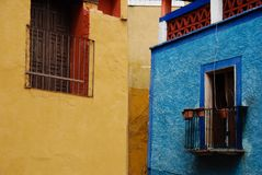 μεξικάνικα Windows Στοκ Εικόνες