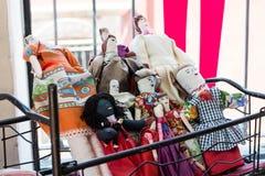 Μεξικάνικες όμορφες παραδοσιακές κούκλες Στοκ εικόνα με δικαίωμα ελεύθερης χρήσης