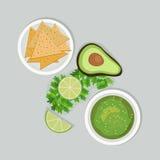 Μεξικάνικη έννοια τροφίμων Στοκ φωτογραφίες με δικαίωμα ελεύθερης χρήσης