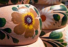 Μεξικάνικη αγγειοπλαστική Handcrafted Στοκ Φωτογραφία