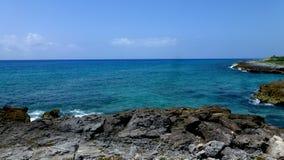 Μεξικάνικη ακτή Ειρηνικών Ωκεανών Στοκ Εικόνες