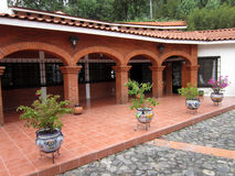 Μεξικάνικη αρχιτεκτονική στοκ φωτογραφίες