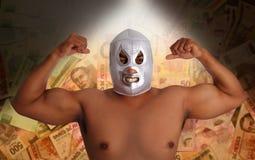 μεξικάνικη ασημένια πάλη μα&sig Στοκ Φωτογραφίες